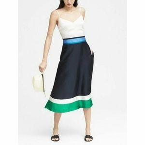 Gorgeous BR color block midi dress